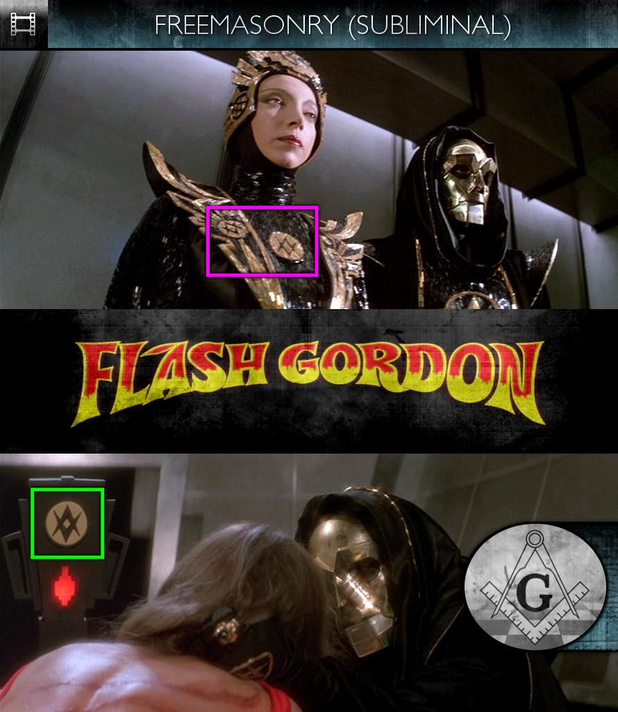 Flash Gordon (1980) - Freemasonry - Subliminal