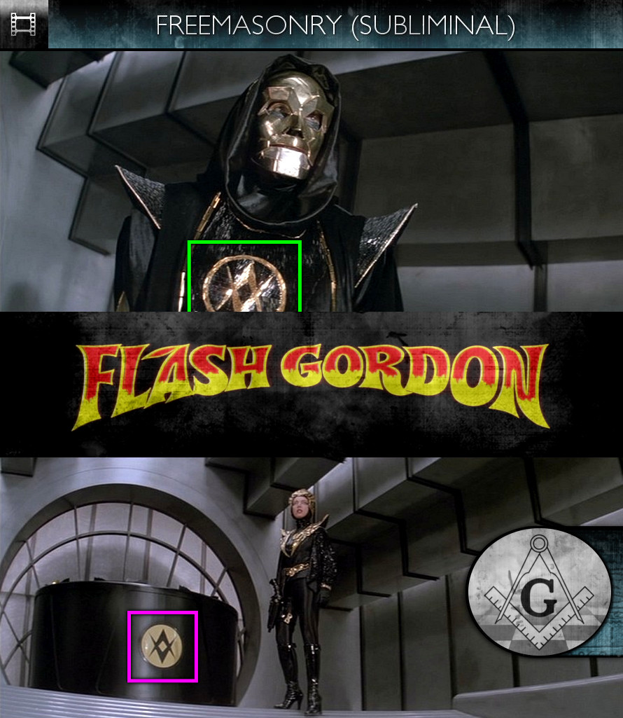 Flash Gordon (1980) - Freemasonry - Subliminal