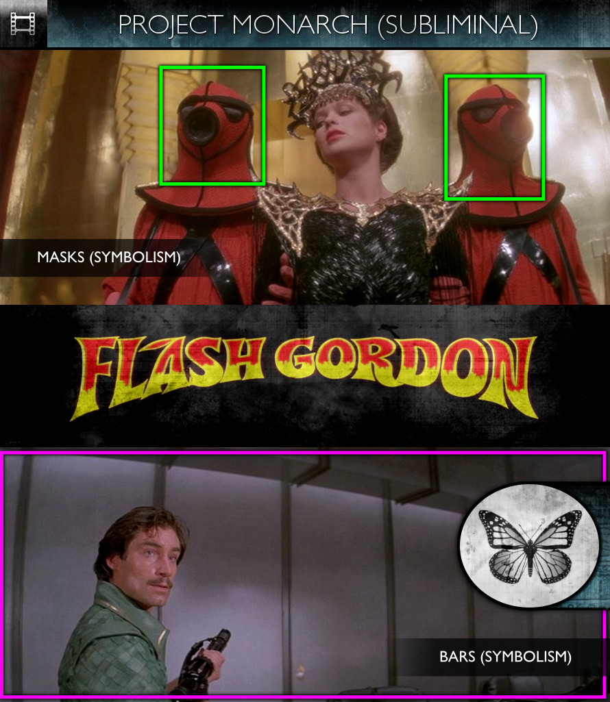 Flash Gordon (1980) - Project Monarch - Subliminal