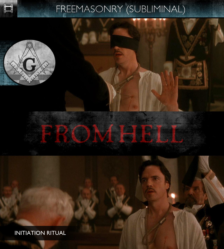 From Hell (2001) - Freemasonry - Subliminal