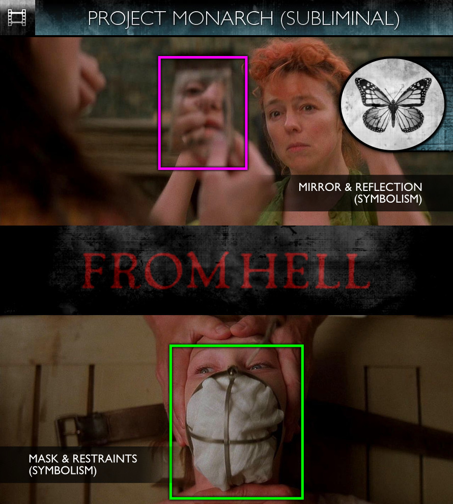 From Hell (2001) - Project Monarch - Subliminal