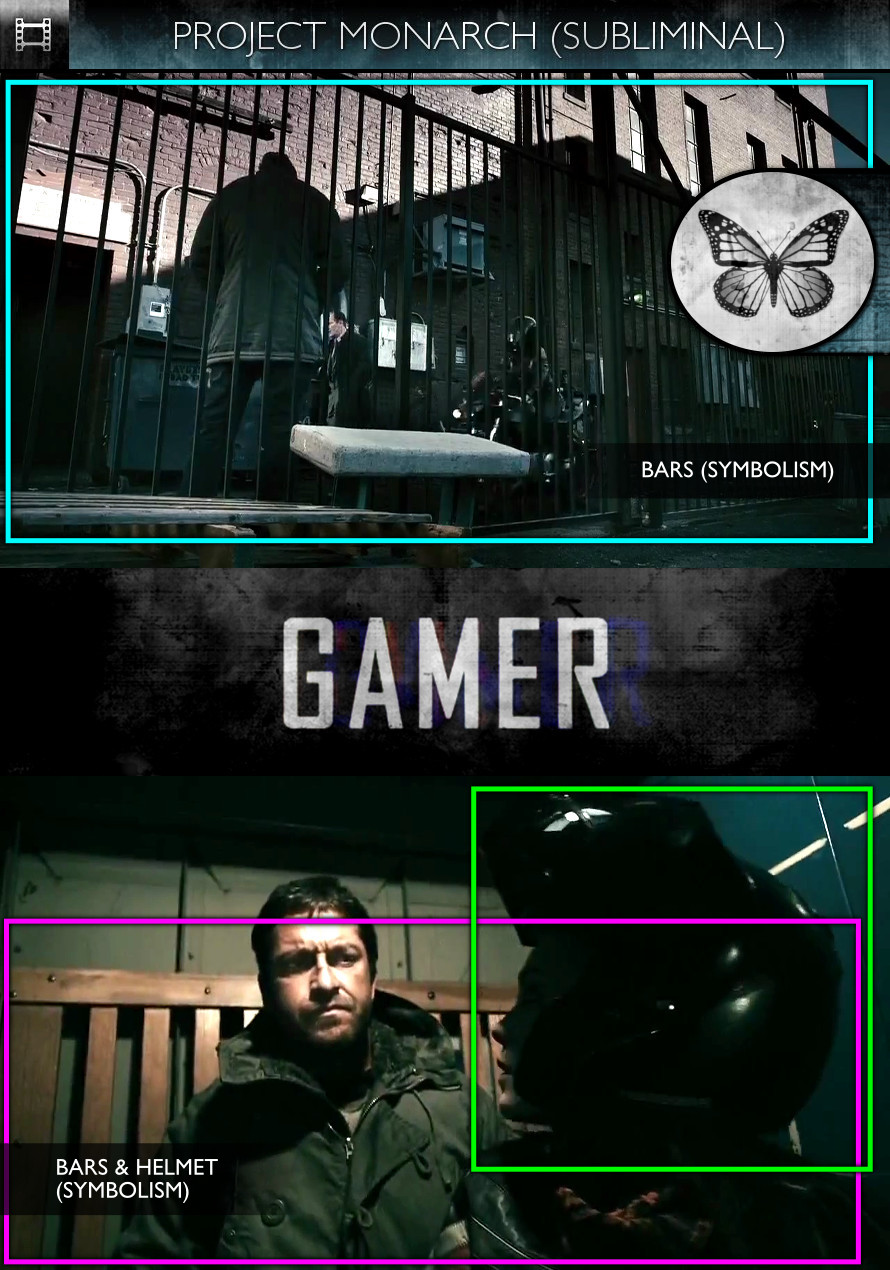 Gamer (2009) - Project Monarch - Subliminal