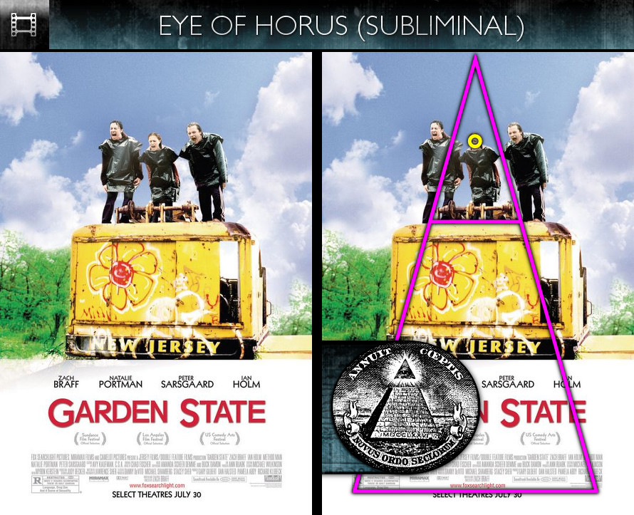 Garden State (2004) - Poster - Eye of Horus - Subliminal