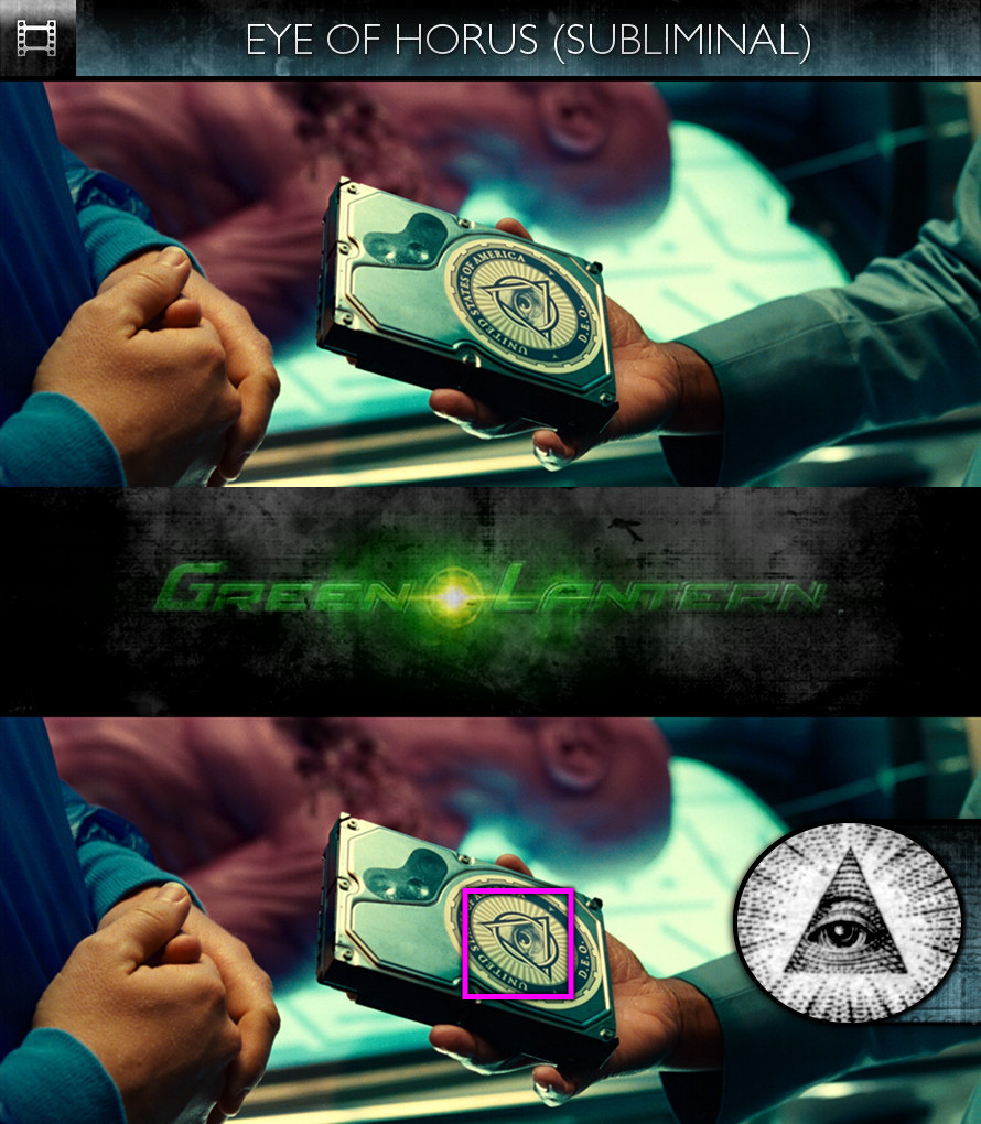 Green Lantern (2011) - Eye of Horus - Subliminal