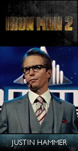 Iron Man 2 (2010) - Justin Hammer (SET)-tb