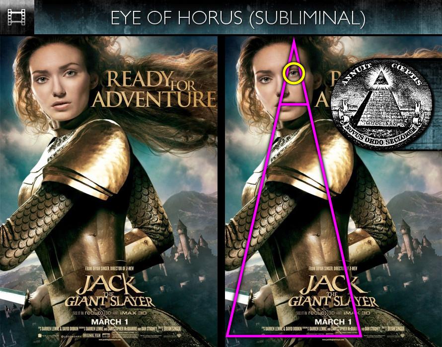 Jack The Giant Slayer (2013) - Poster - Eye of Horus - Subliminal