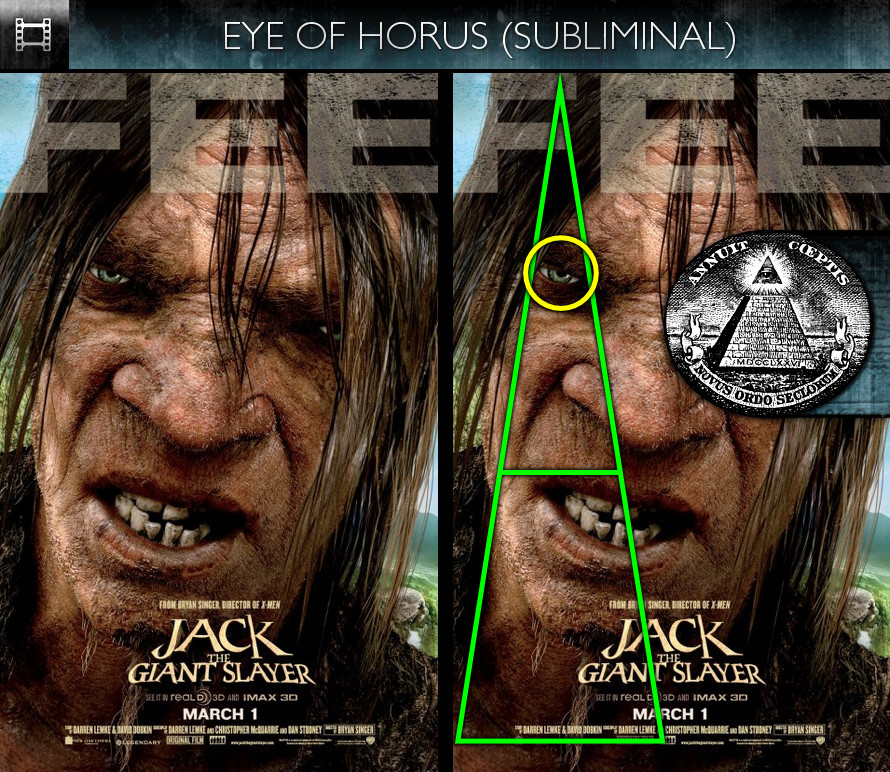 Jack The Giant Slayer (2013) - Poster - Eye of Horus - Subliminal