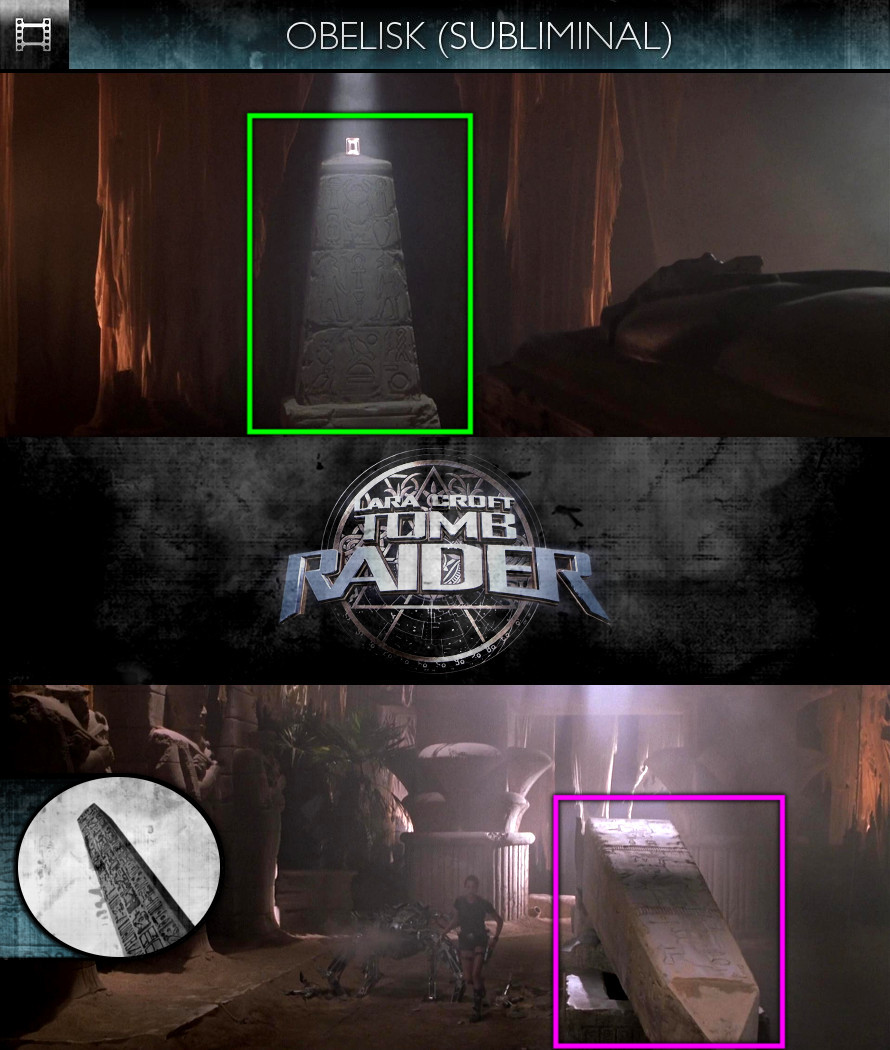 Lara Croft - Tomb Raider (2001) - Obelisk - Subliminal
