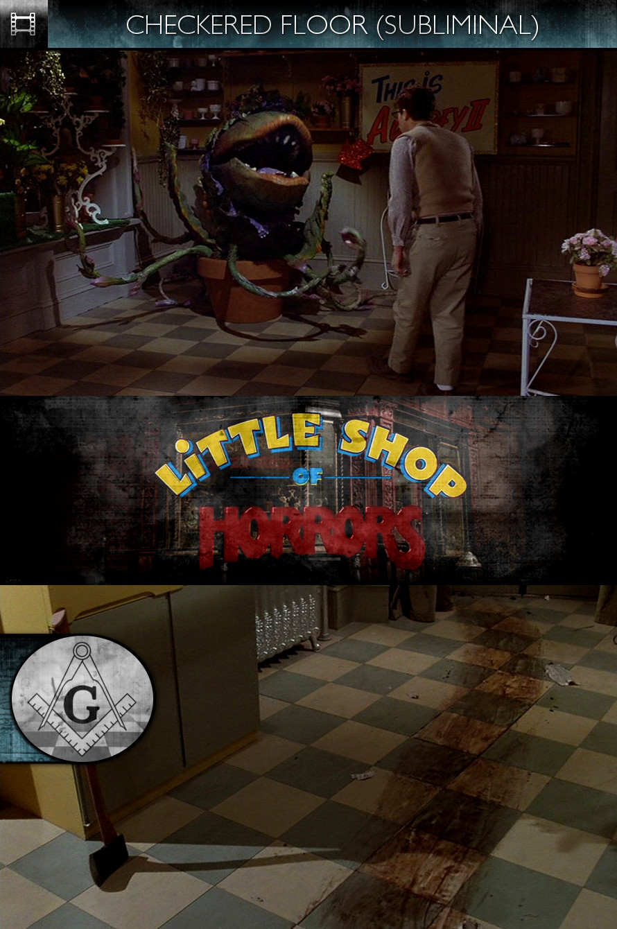 Little Shop of Horrors (1986) - Checkered Floor - Subliminal