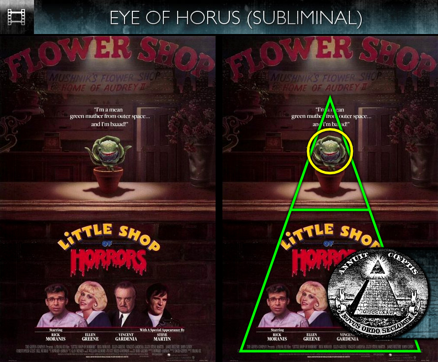 Little Shop of Horrors (1986) - Poster - Eye of Horus - Subliminal