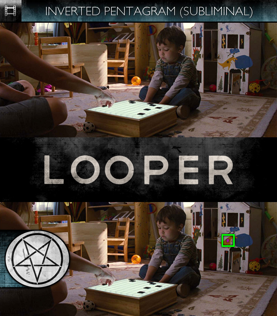 Looper (2012) - Inverted Pentagram - Subliminal
