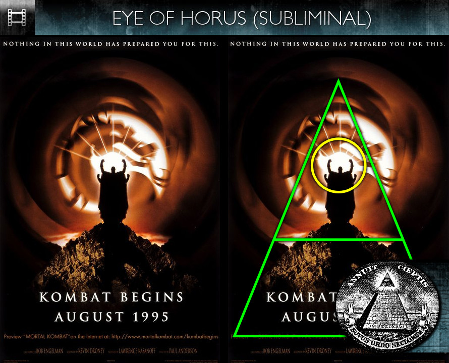 Mortal Kombat (1995) - Poster - Eye of Horus - Subliminal