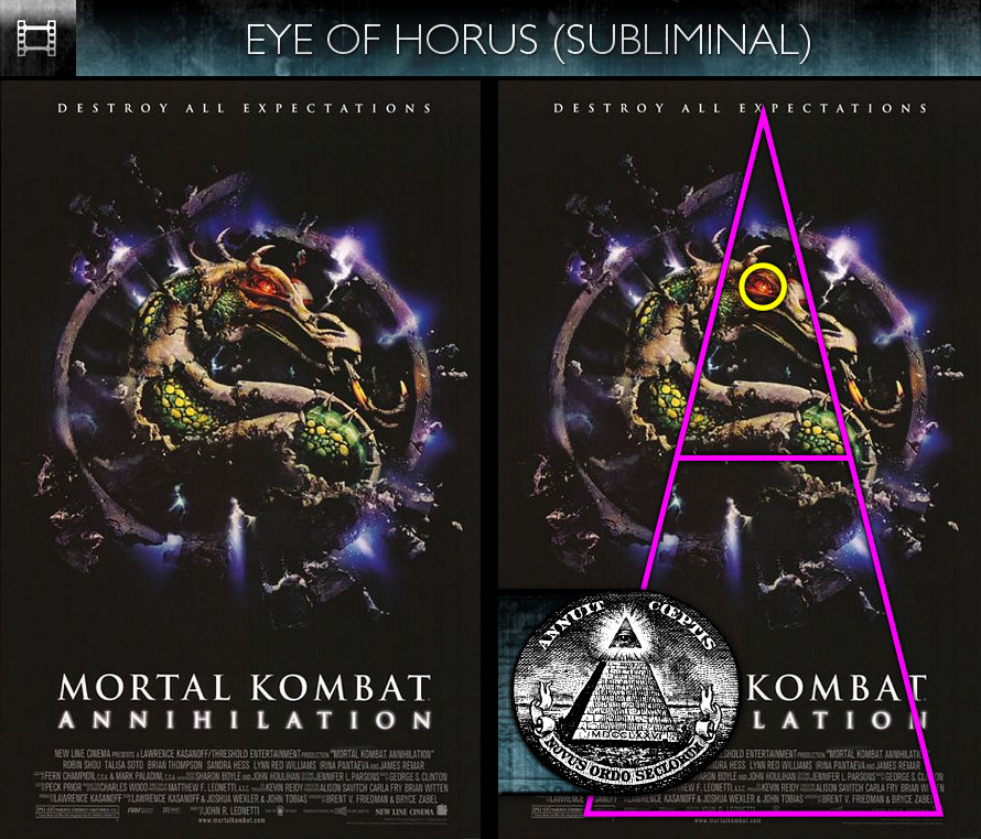 Mortal Kombat: Annihilation (1997) - Poster - Eye of Horus - Subliminal