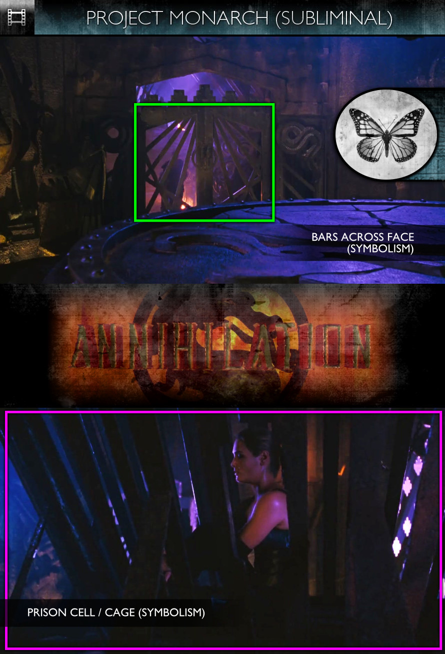 Mortal Kombat: Annihilation (1997) - Project Monarch - Subliminal