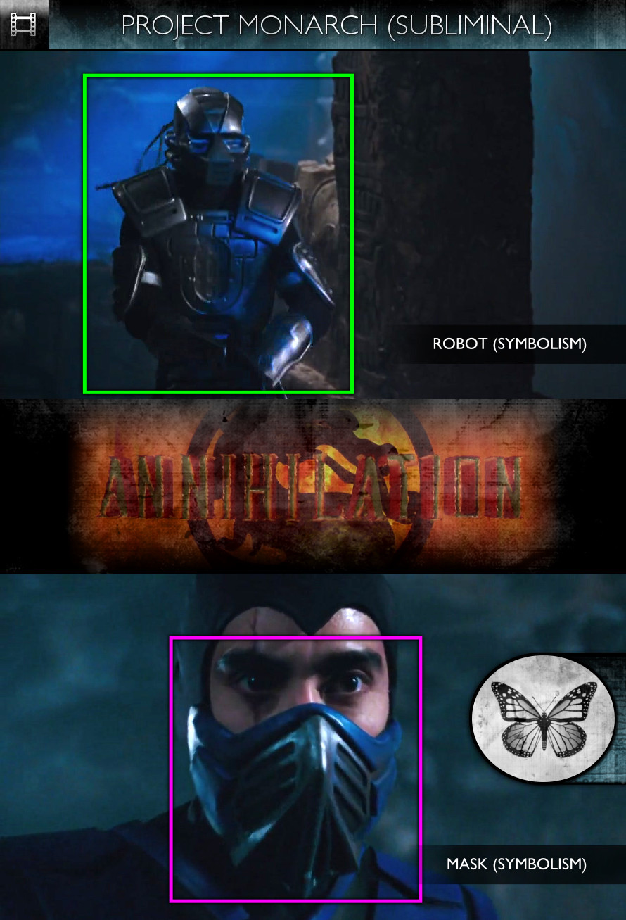 Mortal Kombat: Annihilation (1997) - Project Monarch - Subliminal