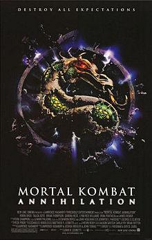 Mortal Kombat - Annihilation - Poster