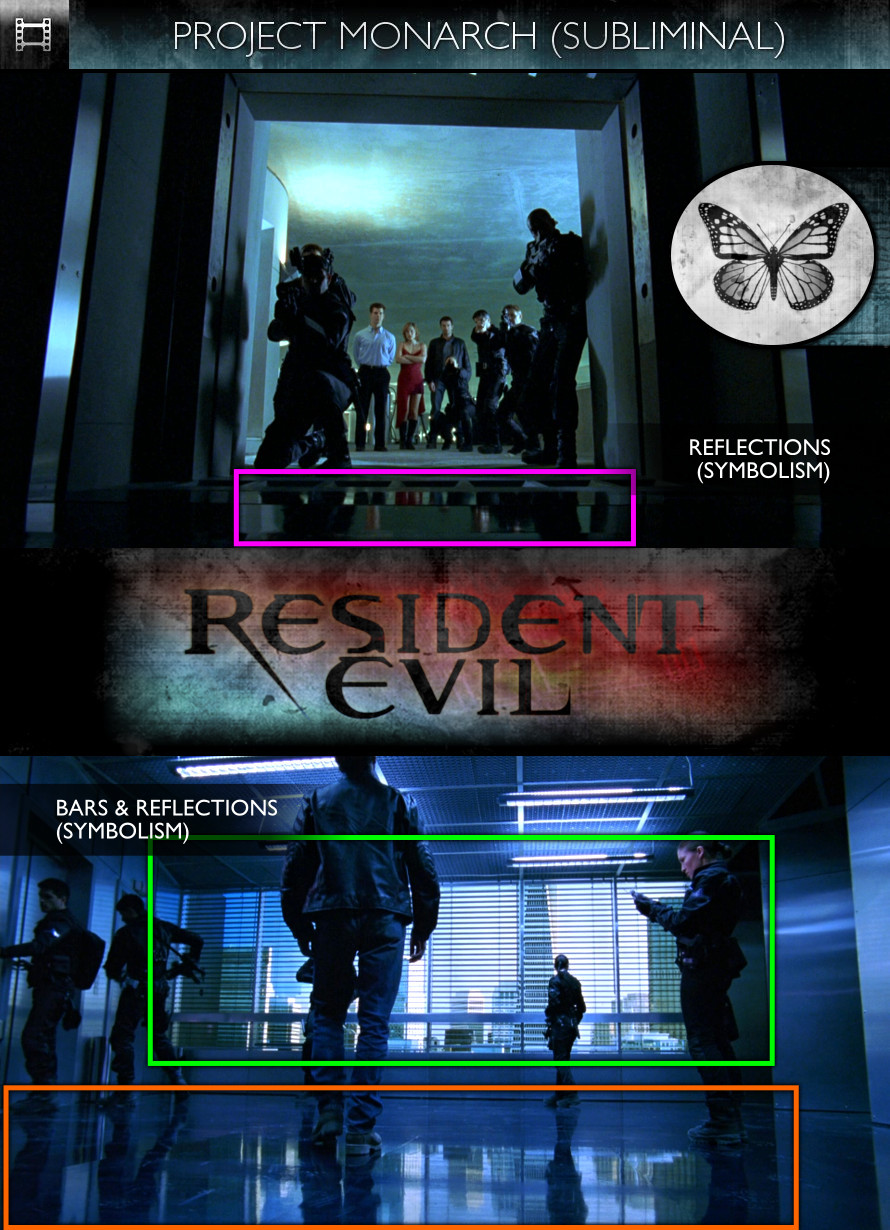 Resident Evil (2002) - PProject Monarch - Subliminal