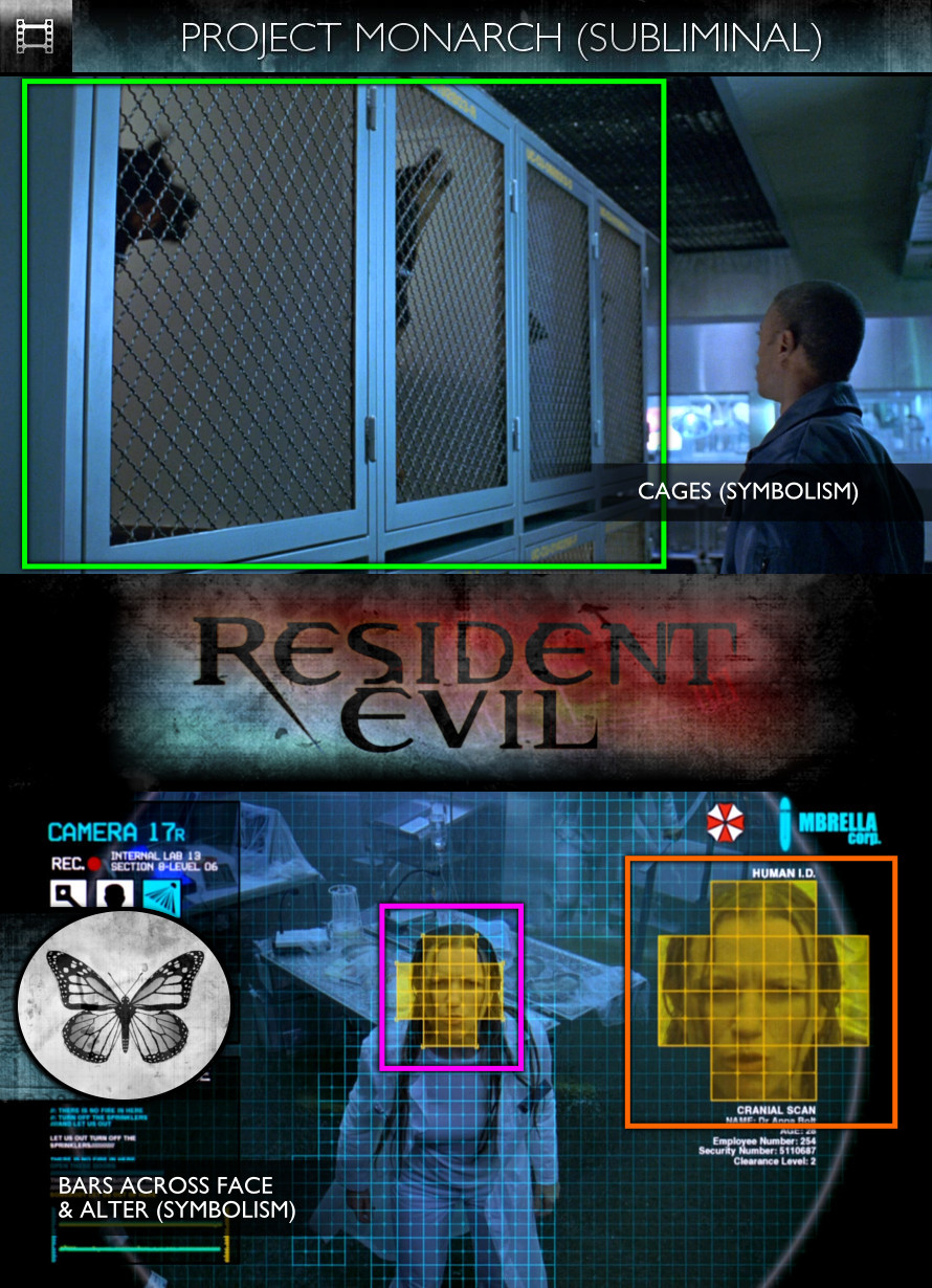 Resident Evil (2002) - Project Monarch - Subliminal