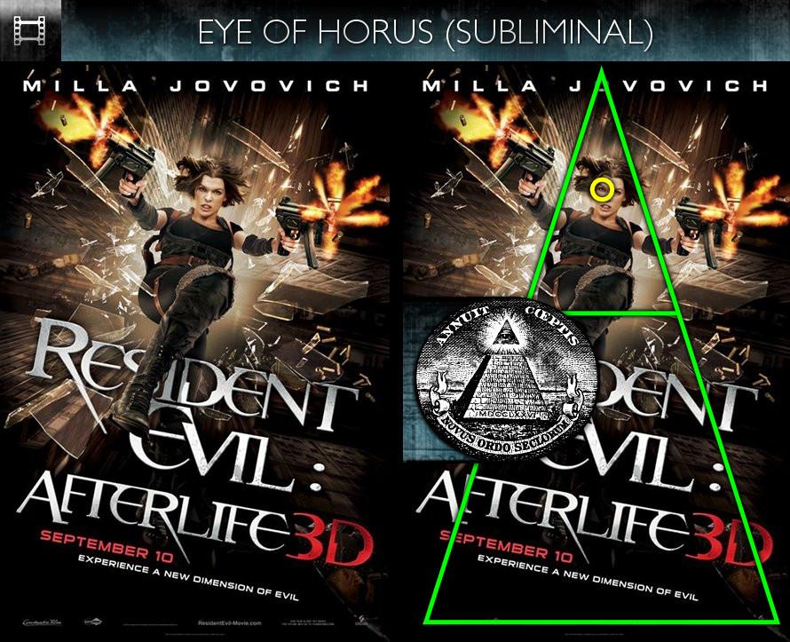 Resident Evil: Afterlife (2010) - Poster - Eye of Horus - Subliminal
