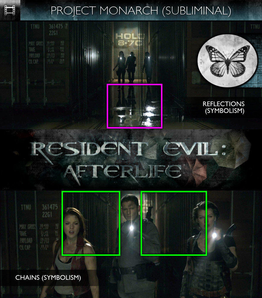 Resident Evil: Afterlife (2010) - Project Monarch - Subliminal