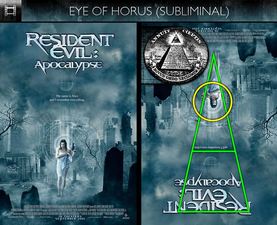 Resident Evil: Apocalypse (2004) - Poster - Eye of Horus - Subliminal