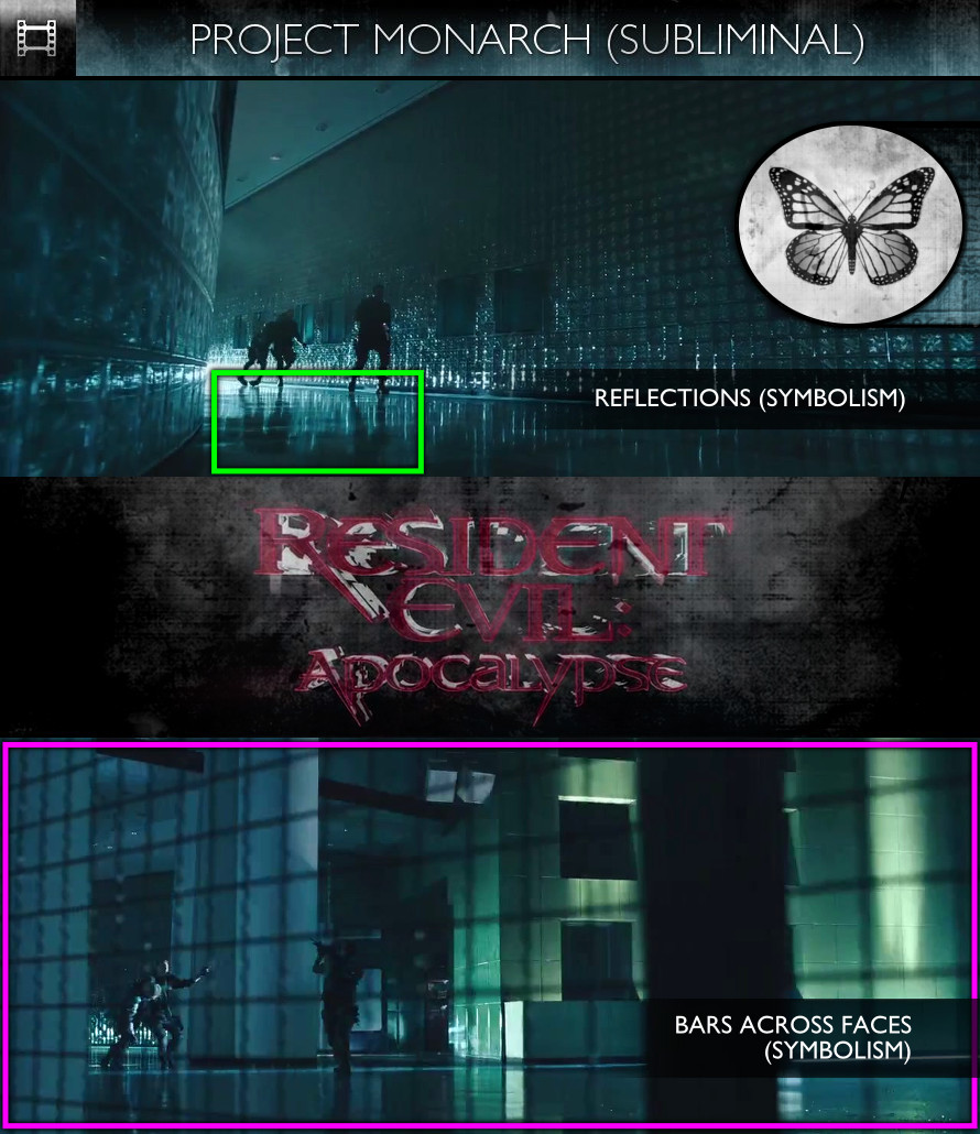 Resident Evil: Apocalypse (2004) - Project Monarch - Subliminal