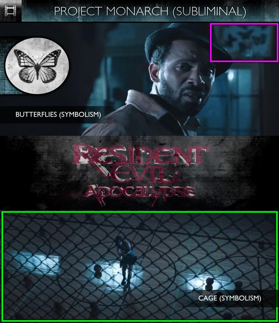 Resident Evil: Apocalypse (2004) - Project Monarch - Subliminal