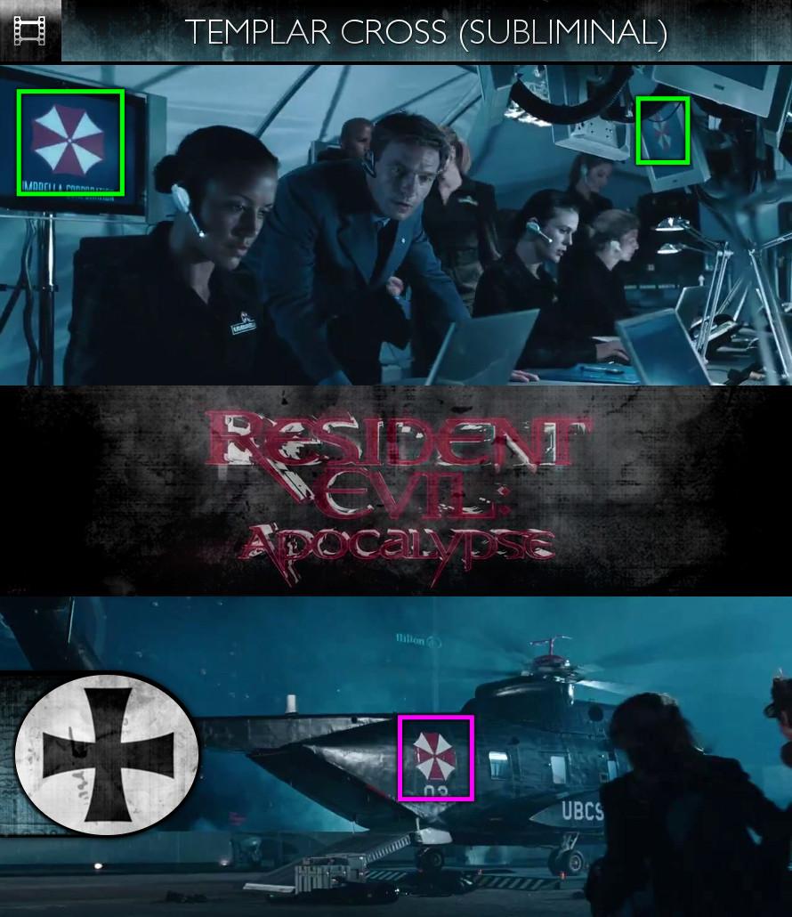 Resident Evil: Apocalypse (2004) - Templar Cross - Subliminal