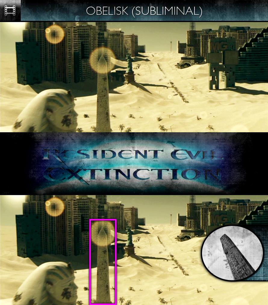 Resident Evil: Extinction (2007) - Obelisk - Subliminal