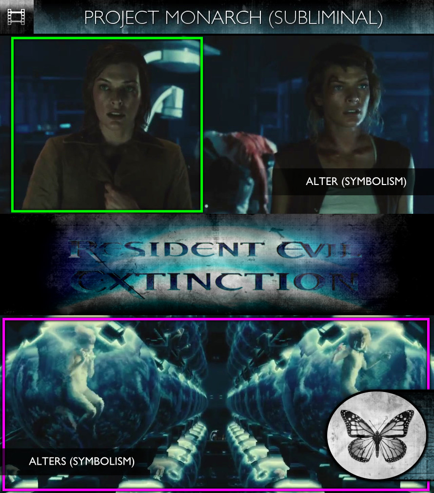 Resident Evil: Extinction (2007) - Project Monarch - Subliminal