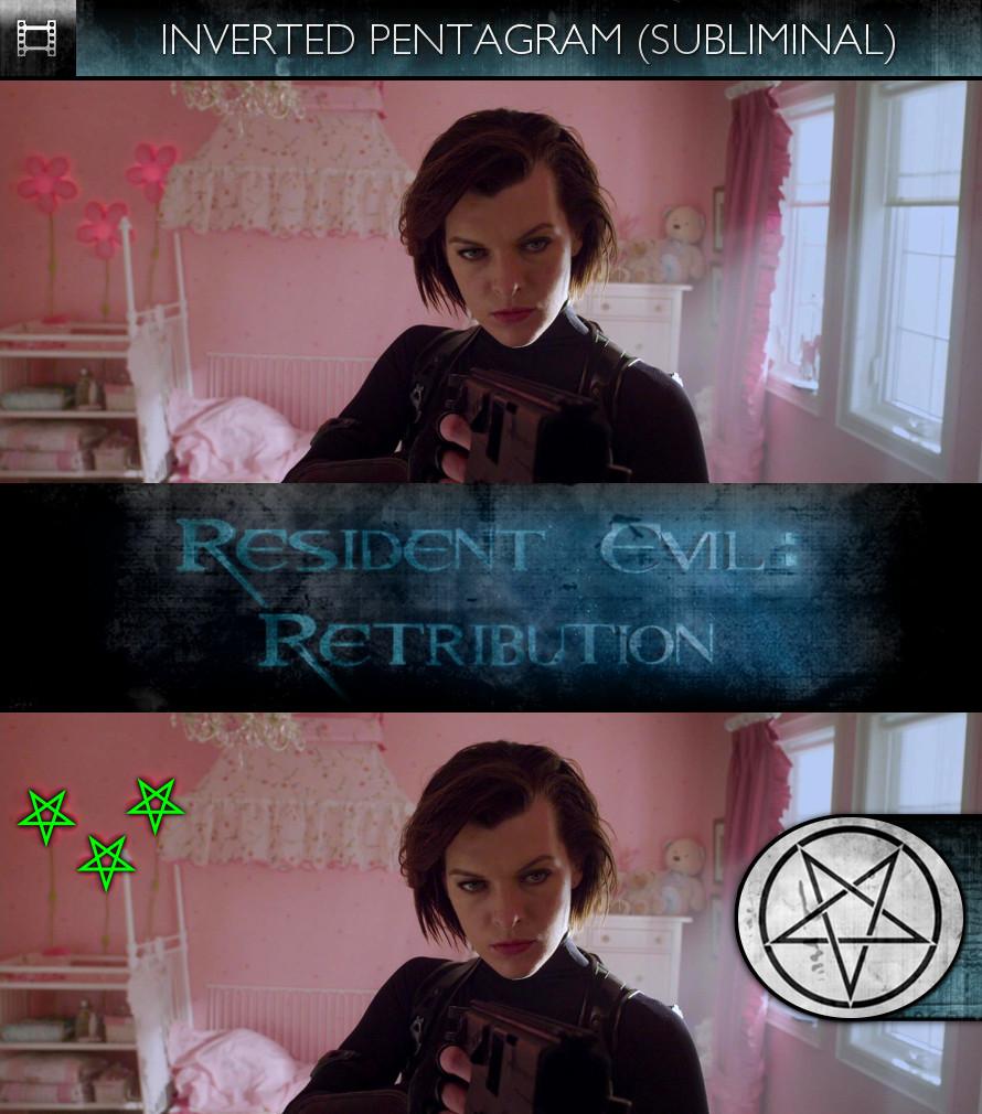 Resident Evil: Retribution (2012) - Inverted Pentagram- - Subliminal