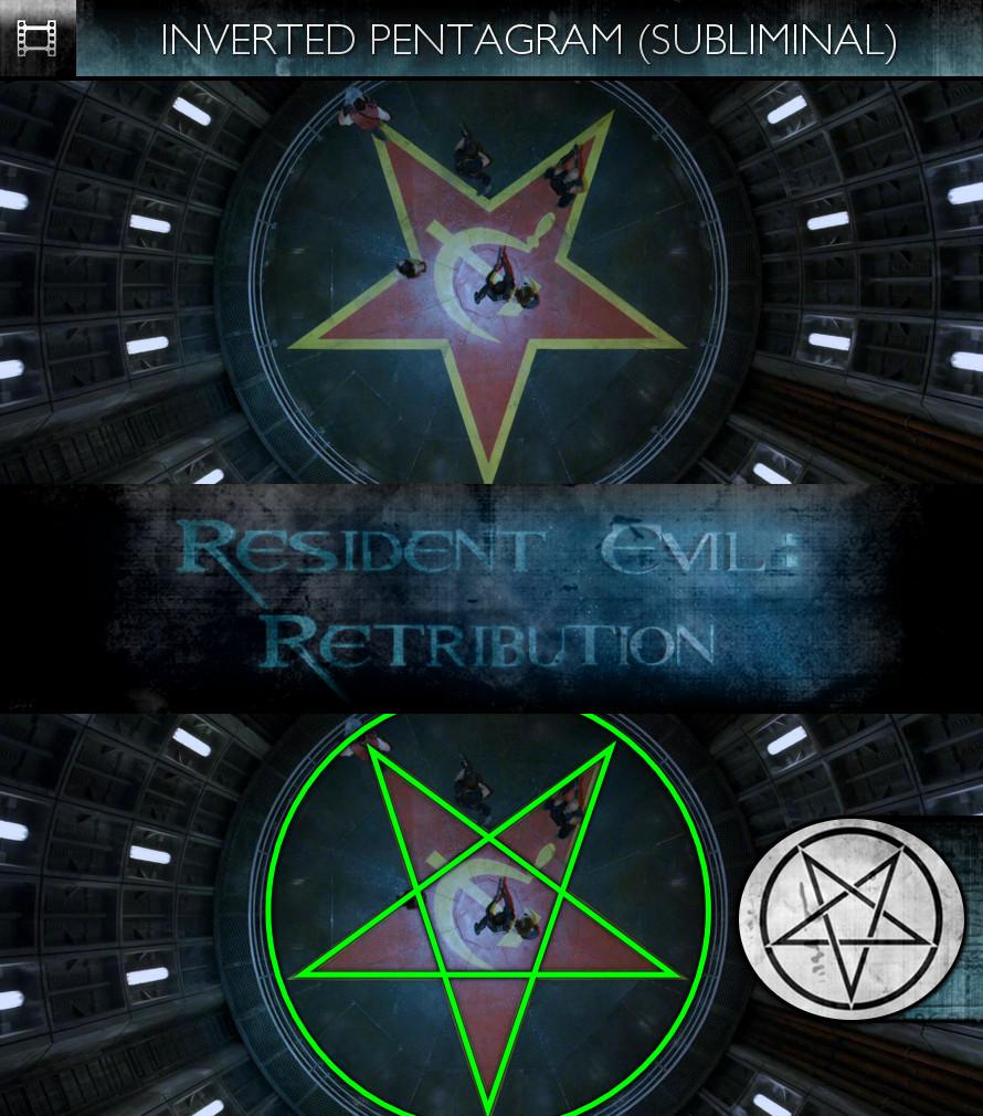 Resident Evil: Retribution (2012) - Inverted Pentagram - Subliminal