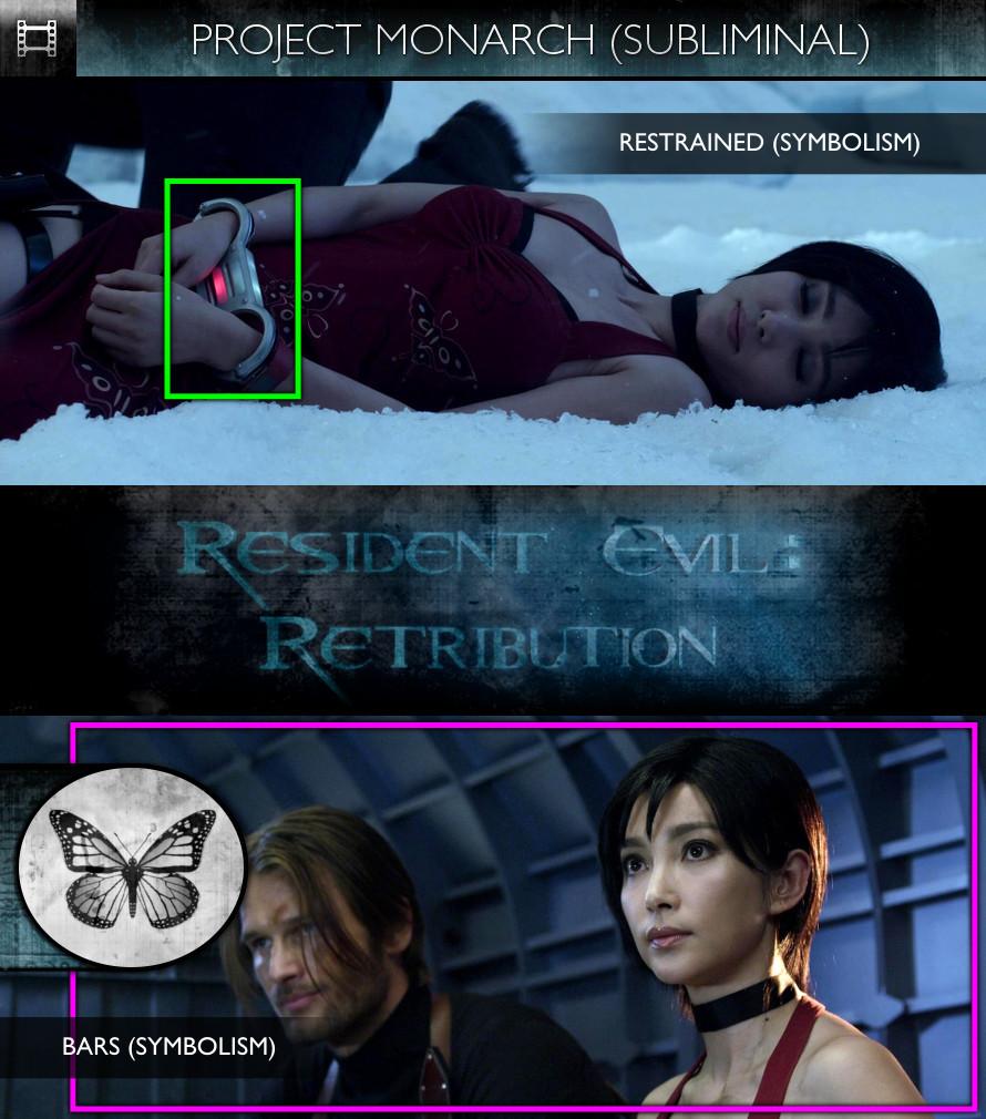 Resident Evil: Retribution (2012) - Project Monarch - Subliminal