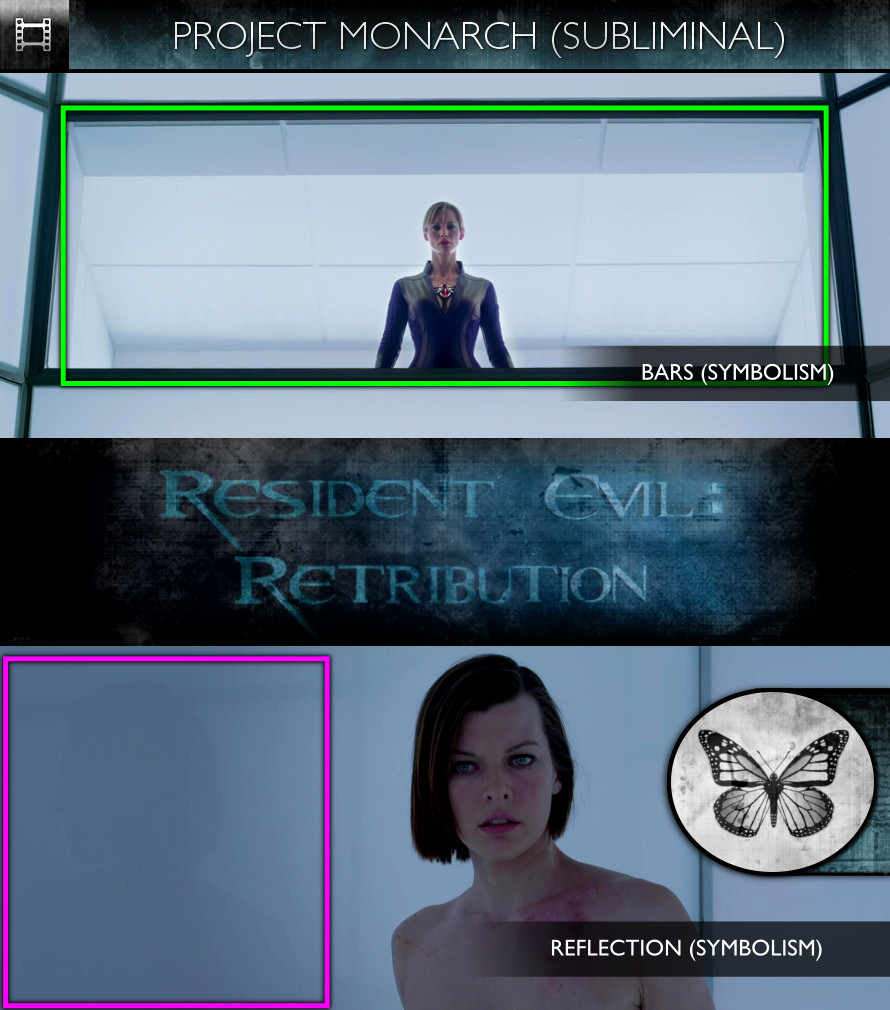 Resident Evil: Retribution (2012) - Project Monarch - Subliminal