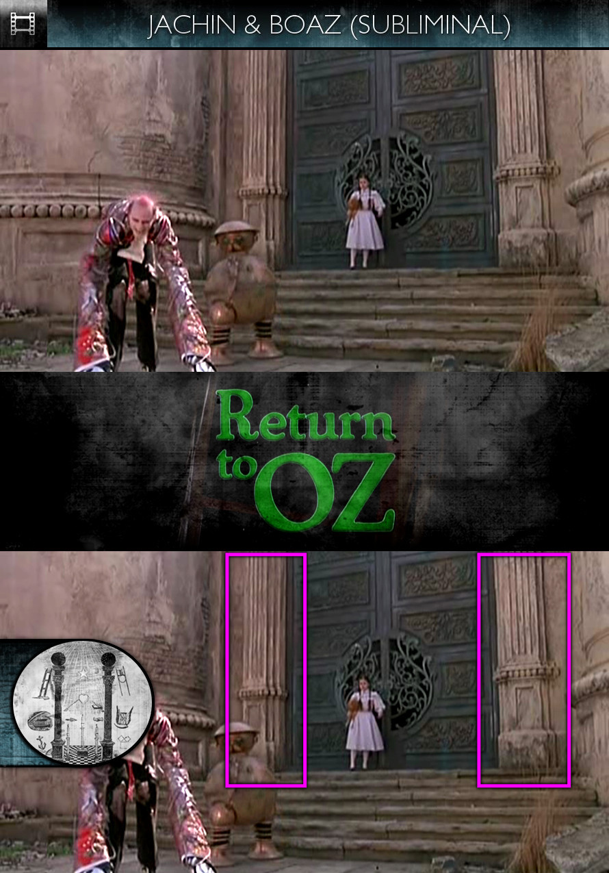Return to Oz (1985) - Jachin & Boaz - Subliminal