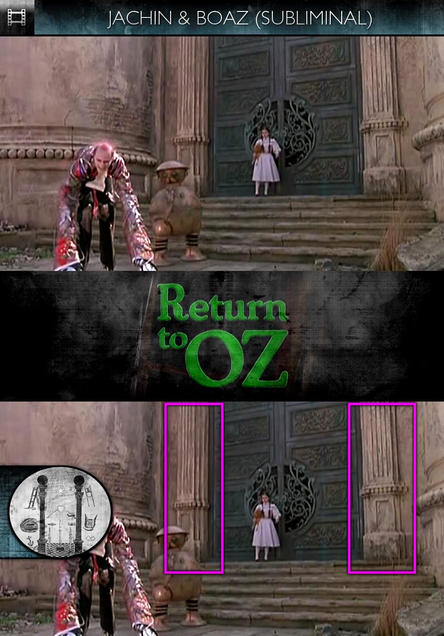 Return to Oz (1985) - Jachin & Boaz - Subliminal