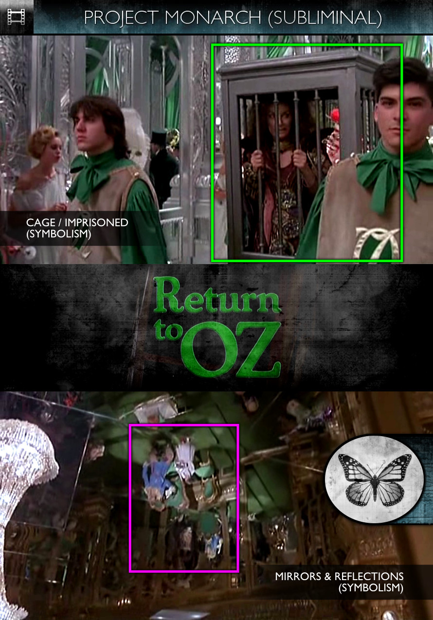 Return to Oz (1985) - Project Monarch - Subliminal