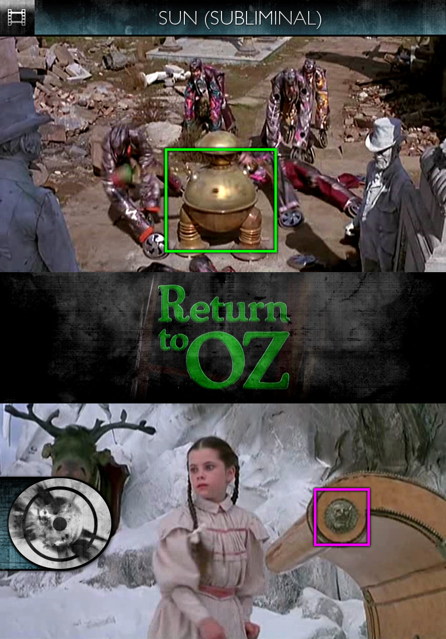 Return to Oz (1985) - Sun/Solar - Subliminal