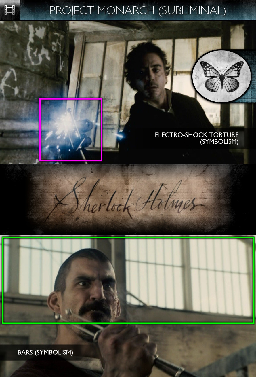 Sherlock Holmes (2009) - Project Monarch - Subliminal