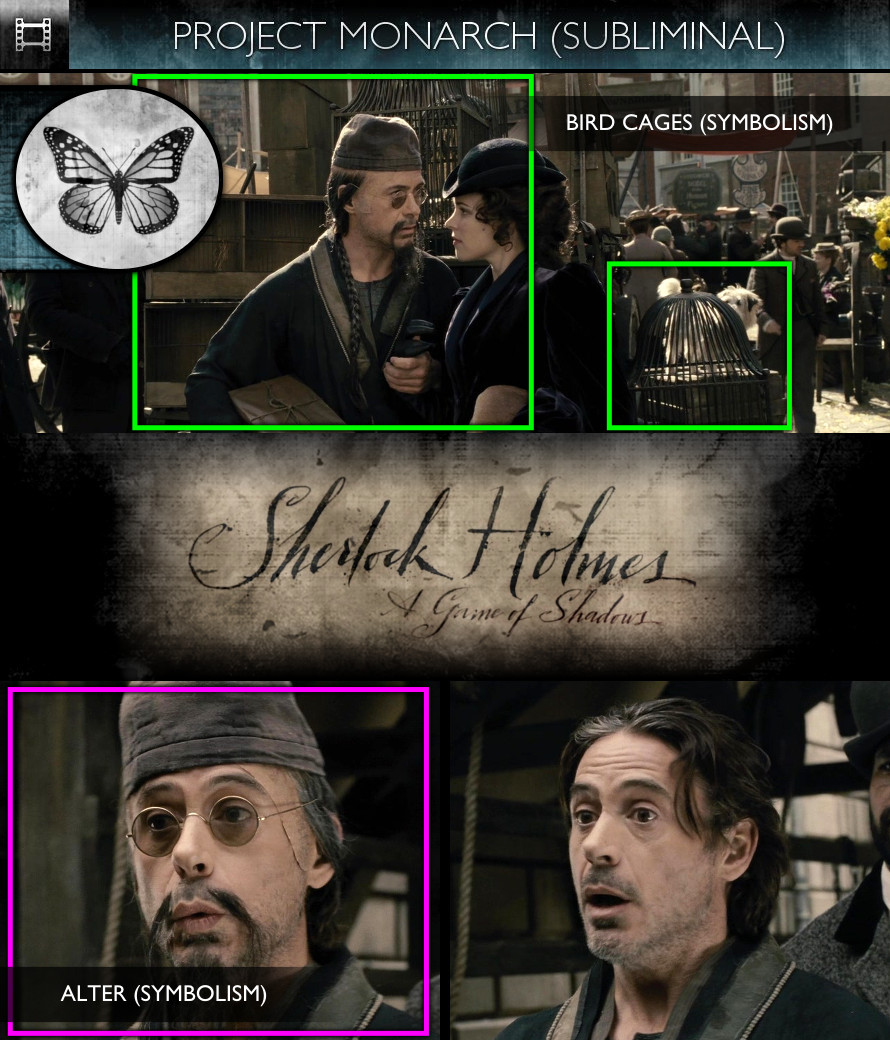 Sherlock Holmes - A Game of Shadows (2011) - Project Monarch - Subliminal