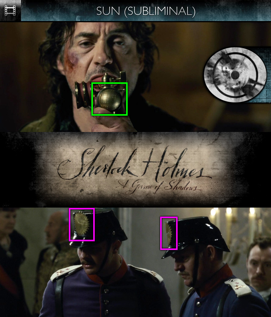 Sherlock Holmes - A Game of Shadows (2011) - Sun/Solar - Subliminal