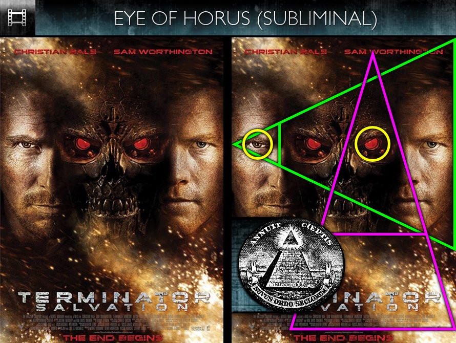 Terminator Salvation (2009) - Poster - Eye of Horus - Subliminal