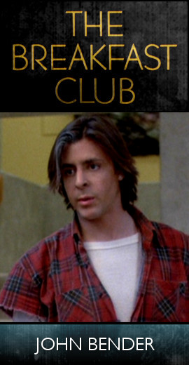 The Breakfast Club (1985) - John Bender (SET)-tb