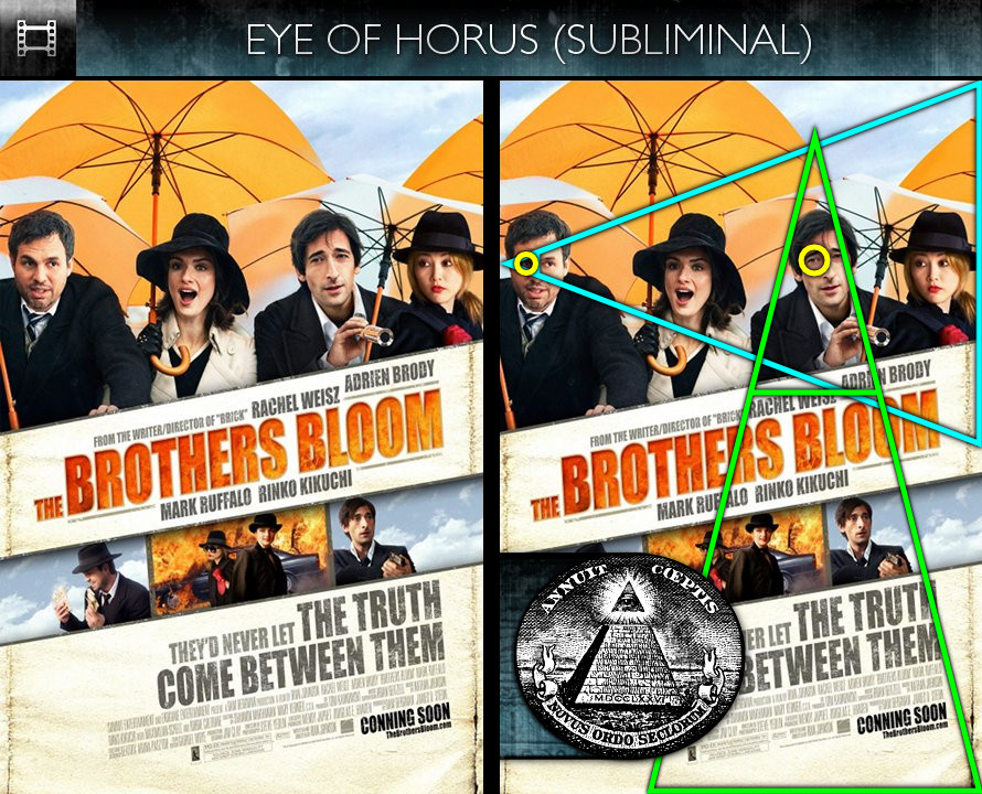 The Brothers Bloom (2009) - Poster - Eye of Horus - Subliminal