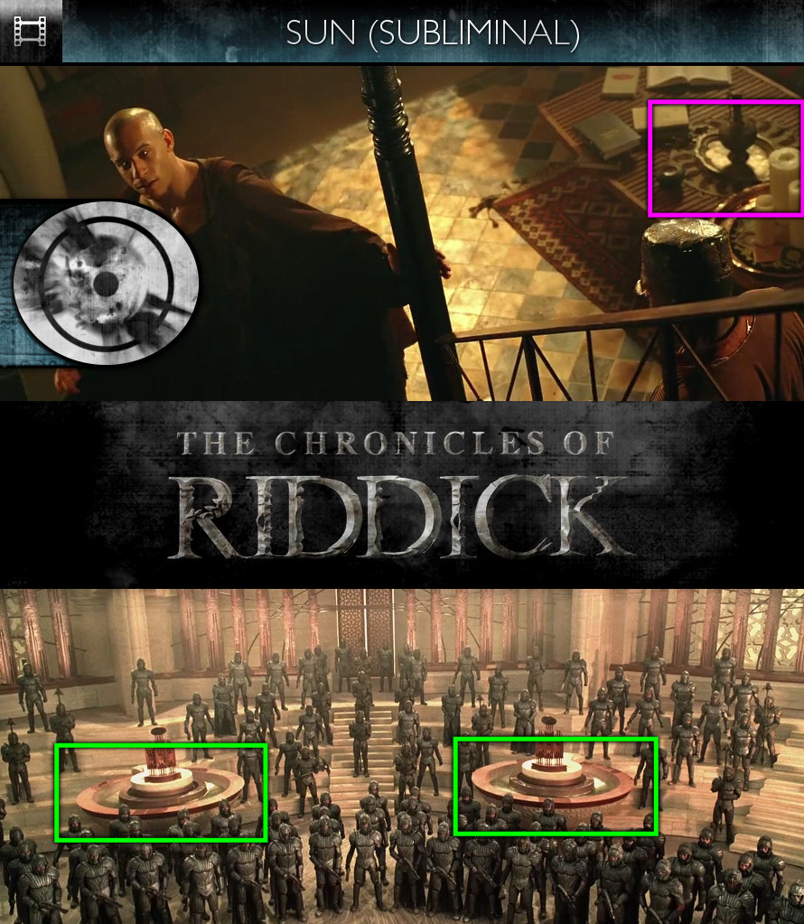 The Chronicles of Riddick (2004) - Sun/Solar - Subliminal