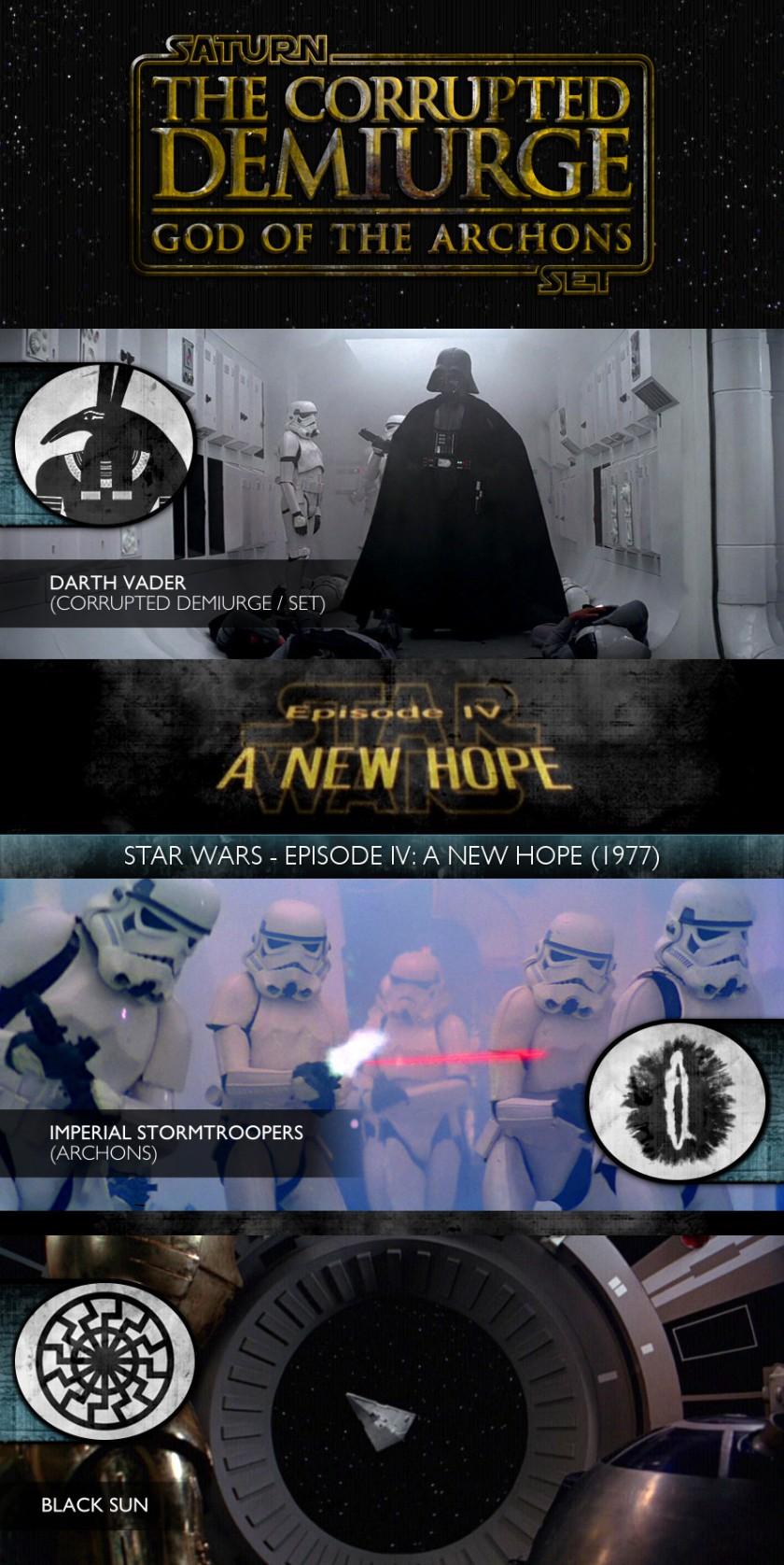 The Corrupted Demiurge - Star Wars - Episode IV - A New Hope (1977) - Darth Vader