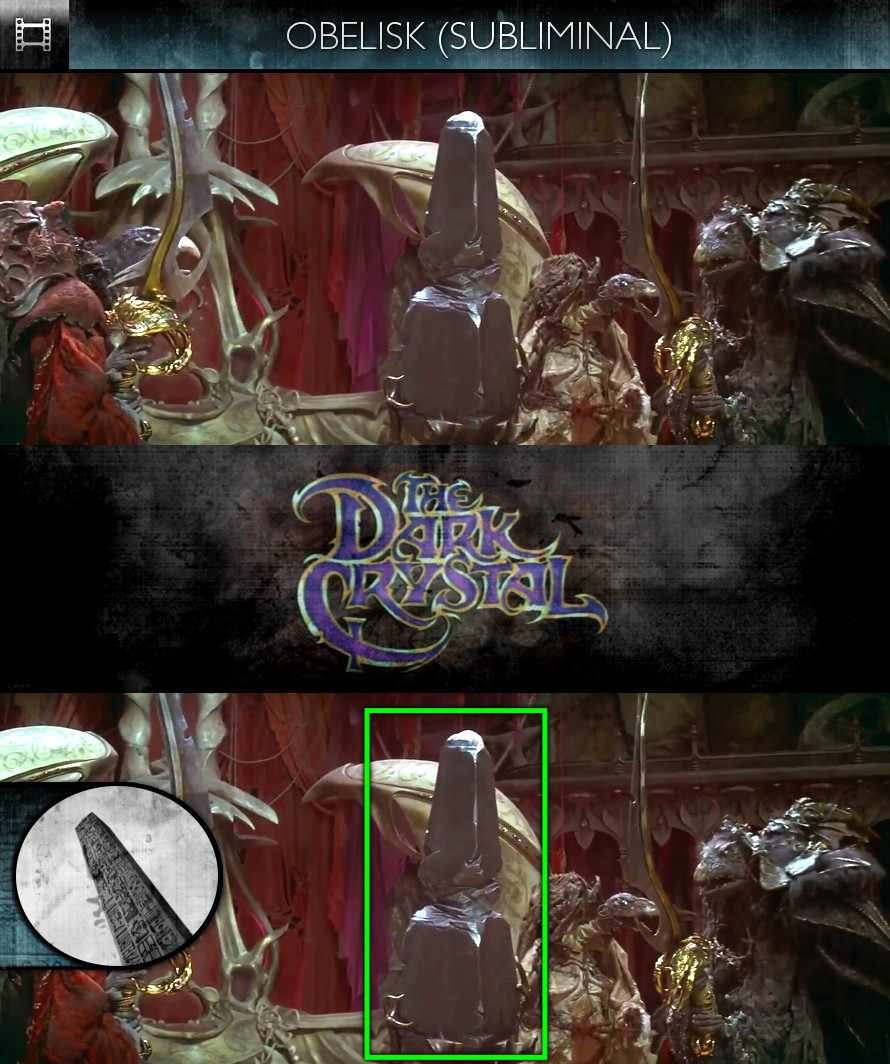 The Dark Crystal (1982) - Obelisk - Subliminal