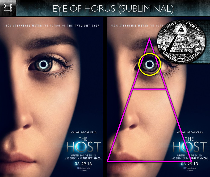 The Host (2013) - Poster - Eye of Horus - Subliminal
