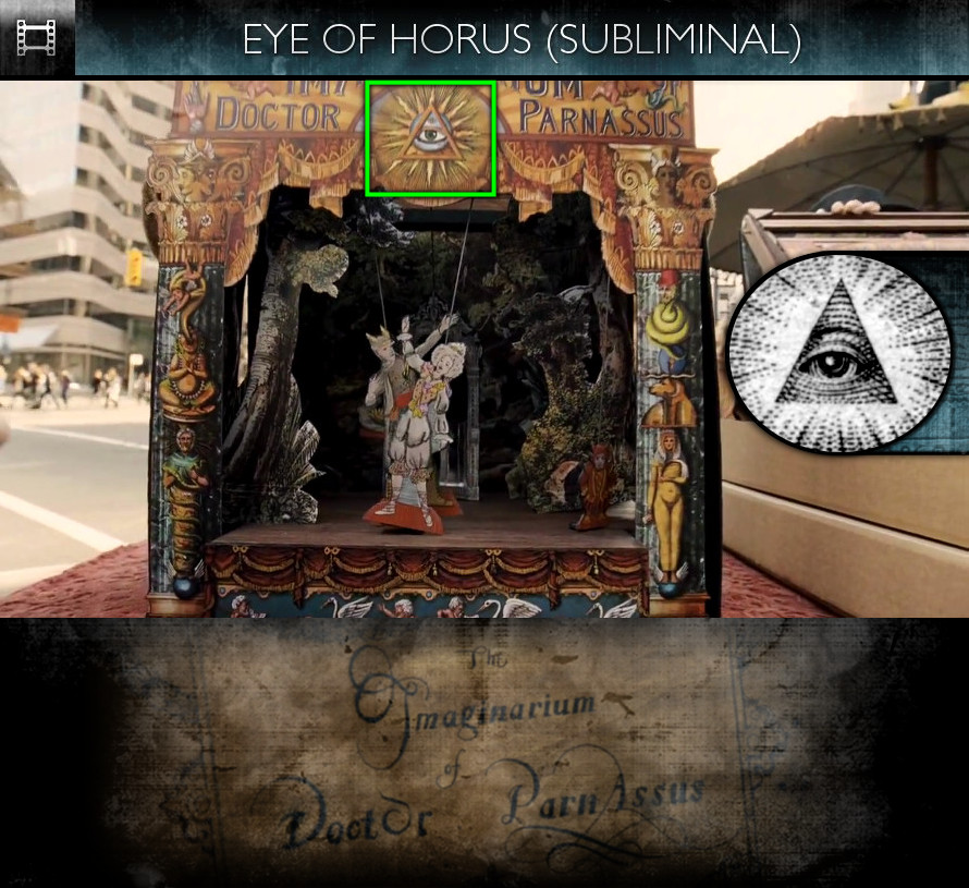 The Imaginarium of Doctor Parnassus (2009) - Eye of Horus - Subliminal