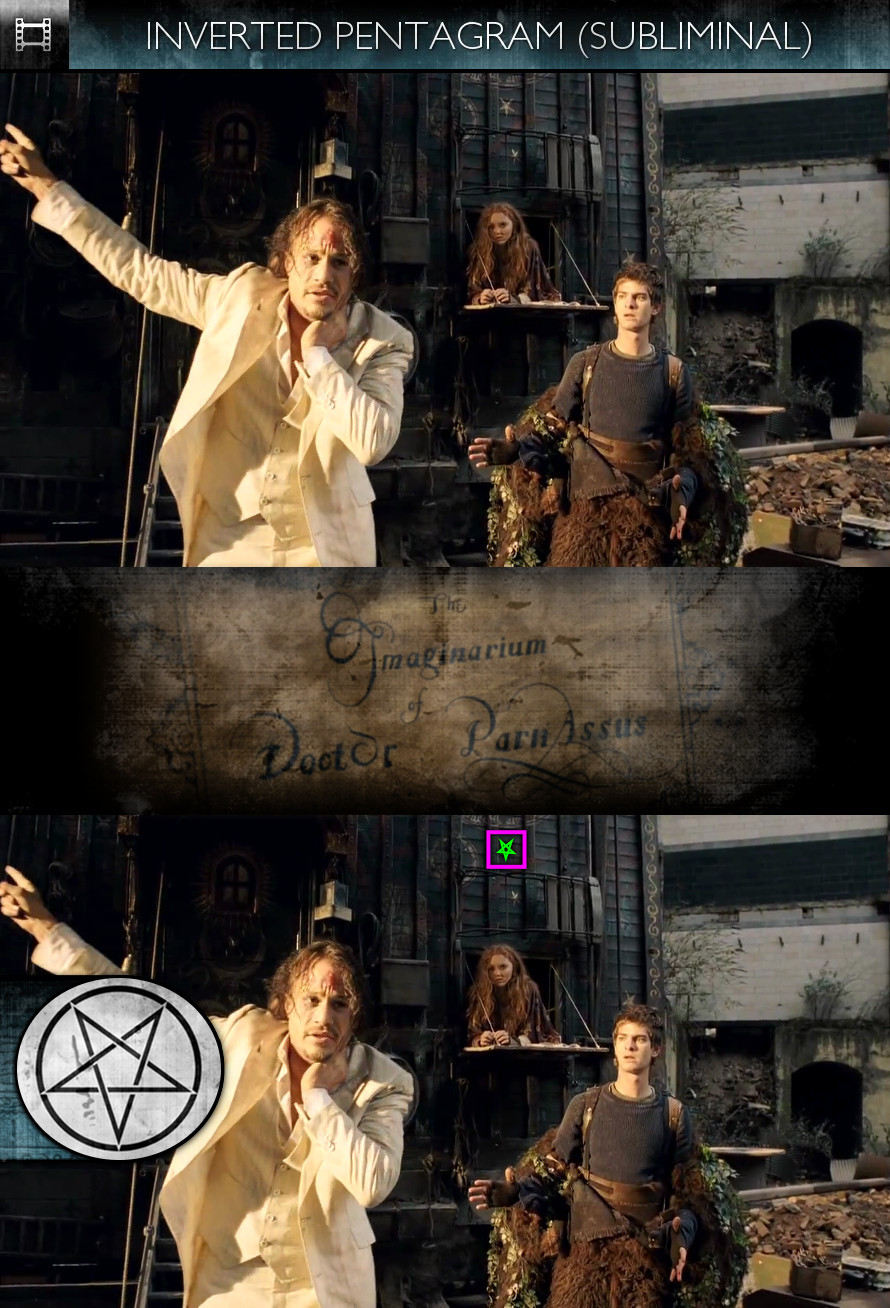 The Imaginarium of Doctor Parnassus (2009) - Inverted Pentagram - Subliminal